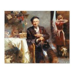 Pino Fleeting Moments Ap Artist Embellished Limited Edition On Canvas Coa