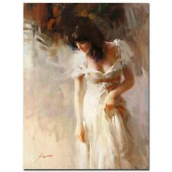 Pino White Rhapsody Pp Artist Embellished Limited Edition On Canvas Coa