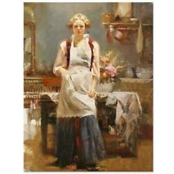 Pino Warm Memories Ap Artist Embellished Limited Edition On Canvas Coa