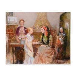 Pino Generations Of Faith Hc Artist Embellished Limited Edition Canvas Coa