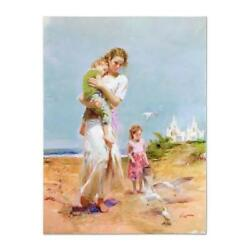 Pino Heavenly Breeze Hc Artist Embellished Limited Edition On Canvas Coa