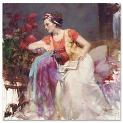Pino Serendipity Ap Artist Embellished Limited Edition On Canvas Coa