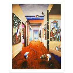 Ferjo Theresa And 3 Candles Signed Limited Edition Giclee On Canvas