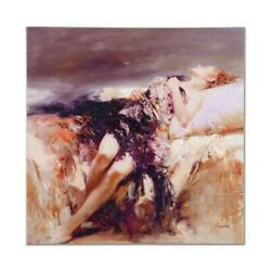 Pino Ecstasy Ap Artist Embellished Limited Edition On Canvas Coa