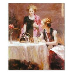 Pino After Dinner Artist Embellished Limited Edition On Canvas Coa