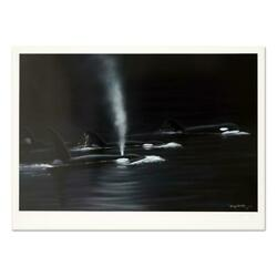 Wyland Ancient Orca Seas Signed Limited Edition Art Coa