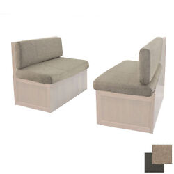 Recpro 44 Rv Dinette Booth Memory Foam Cushions With Cloth Rv Furniture Seats