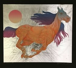 Rare Sold Out 2/5 Guillaume Azoulay Vitesse State Ii Silver Serigraph H/s Coa