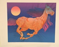 Rare Sold Out 1/1 Guillaume Azoulay Vitesse State Ii Purple Serigraph H/s Coa