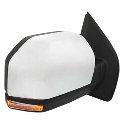 For Ford F-150 15-20 Replace Passenger Side Power View Mirror Heated, Foldaway