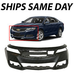 New Primered Front Bumper Cover Fascia Replacement For 2014-2020 Chevy Impala
