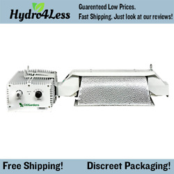 G-lux System 1000w Double Ended 208-277v Grow Light Hood Reflector Kit Large