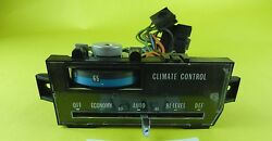 1977 1978 77 78 Cad Cadillac Fleetwood Deville A/c Heat Climate Control Used T