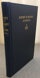 History Of Masonry In Nevada By C.w. Torrence 1944 First Edition Freemasonry