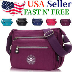 Waterproof Messenger Cross Body Ladies Handbag Bag Shoulder Bag Womens Purse $12.99