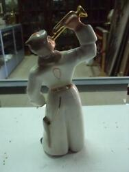 Soviet Red Army Soldier Trumpeter Antique Ussr Russian Porcelain Figurine 6485с