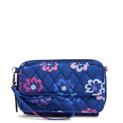 Vera Bradley All In One Crossbody and Wristlet For iPhone 6 Ellie Flowers NWT $29.50