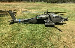 REMOTE CONTROL APACHE AH-64 LARGE SCALE HELECOPTER FROM KERRY MUNCEY