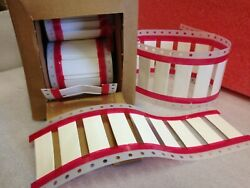 309 Pcs White Heat-shrinkable Wire Identification Sleeves 1/2 At 7