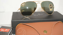 RAY BAN Aviator Limited Edition 1937 Sunglasses GoldG15 RB3025 00131 58 135