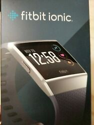 Fitbit Ionic Smartwatch /w Small And Large Bands -smoked Charcoal