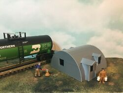 Quonset Office Building - O Scale - 148 Military Or Farm Cluster - Built Up