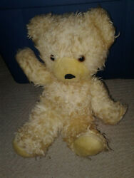 vintage pre-owned childs toy scruffy bear stuffed collectible