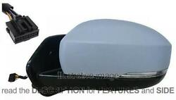 Side View Mirror Land Rover Discovery Iv From 2014 Right Foldable 11 Pin