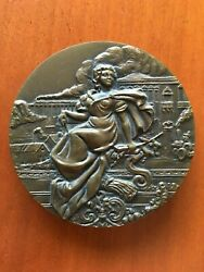 Beautiful And Rare Bronze Medal Of Portugal Bank 2002