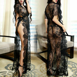 New Design Women Sexy Lingerie Lace Dress Bodysuit Babydoll Nightgown Sleepwear