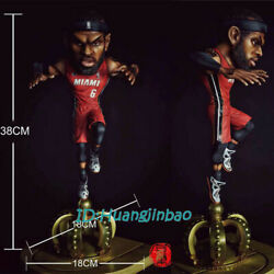 The King Lebron James Painted Model Resin Figure Collection In Stock 38cmh New