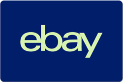eBay Gift Card $10 to $200 Email Delivery