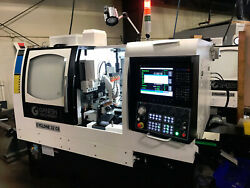 Ganesh CS32 7 Axis CNC Swiss Style Lathe  Delivered January 2018