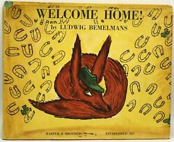 Ludwig Bemelmans / Welcome Home Signed 1st Edition 1960 288584