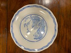 Serving Pieces And Place Settings Of Furnivals China Blue Quail Pattern