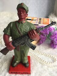 Genuine Breitling 1884 -lead Toy Soldier Model- Cham And Cool- Rare Collectible