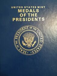 Us Mint Medals Book Of The Presidents From Washington - Obama Exelent Condition