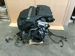 BMW F10 535 640 740 FRONT COMPLETE ENGINE MOTOR TWIN TURBO N55 3.0L 2012-2018
