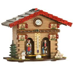 Exclusive German Black Forest Weather House Tu 849 New