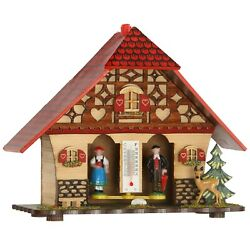 German Black Forest Weather House Tu 847 New