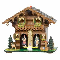 Exclusive German Black Forest Weather House Tu 827 New