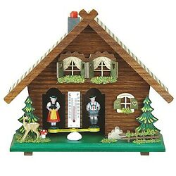 German Black Forest Weather House Tu 818 New