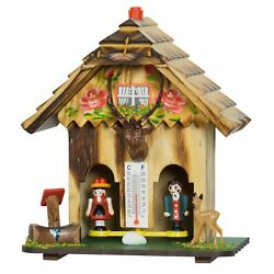 German Black Forest Weather House Tu 73 Hb New