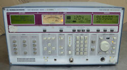 Rohde And Schwarz Test Receiver Esvd 20-1000mhz [a1]