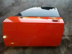 2009 Dodge Challenger SRT8 Front Door Left Driver Hemi Orange LH