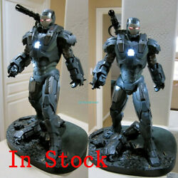 Iron Man Mk6 War Machine 1/4 Statue Led Light Model Painted Collection In Stock