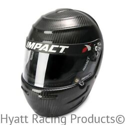 Impact Vapor Ls Carbon Fiber Auto Racing Helmet Snell Sa2015 - All Sizes