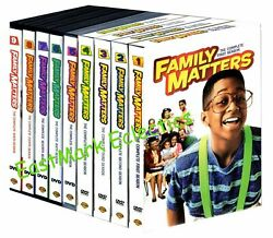 Family Matters The Complete Series 27-dvds Seasons 1-9 1 2 3 4 5 6 7 8 9