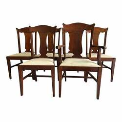 Vintage Farm House / Country Dining Chairs S/6