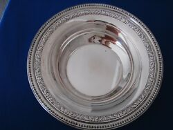 Reed And Barton Silverplate Serving Bowl - Pattern 1201 - 10 Inches X 2 1/4 - Vgc
